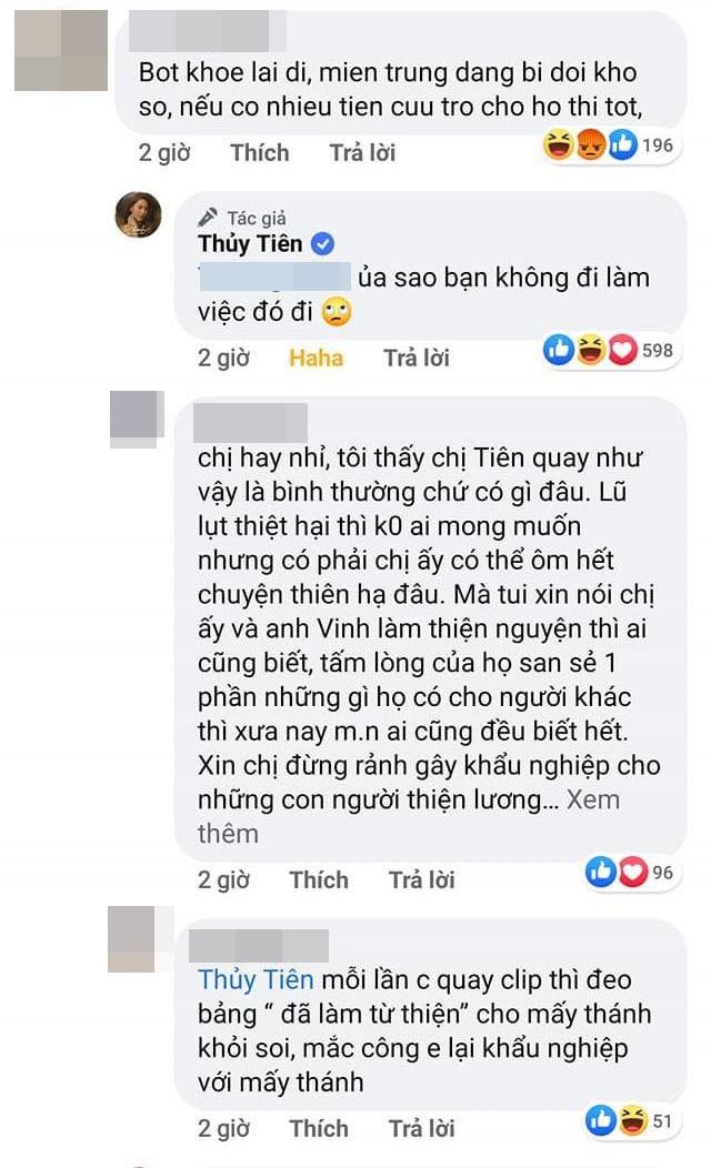 """Bị chỉ trích vì khoe đồ mới mà không làm từ thiện miền Trung, Thủy Tiên đáp trả một câu khiến anti-fan """"cứng họng"""" - Ảnh 3."""