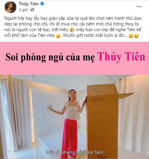 """Bị chỉ trích vì khoe đồ mới mà không làm từ thiện miền Trung, Thủy Tiên đáp trả một câu khiến anti-fan """"cứng họng"""" - Ảnh 2."""