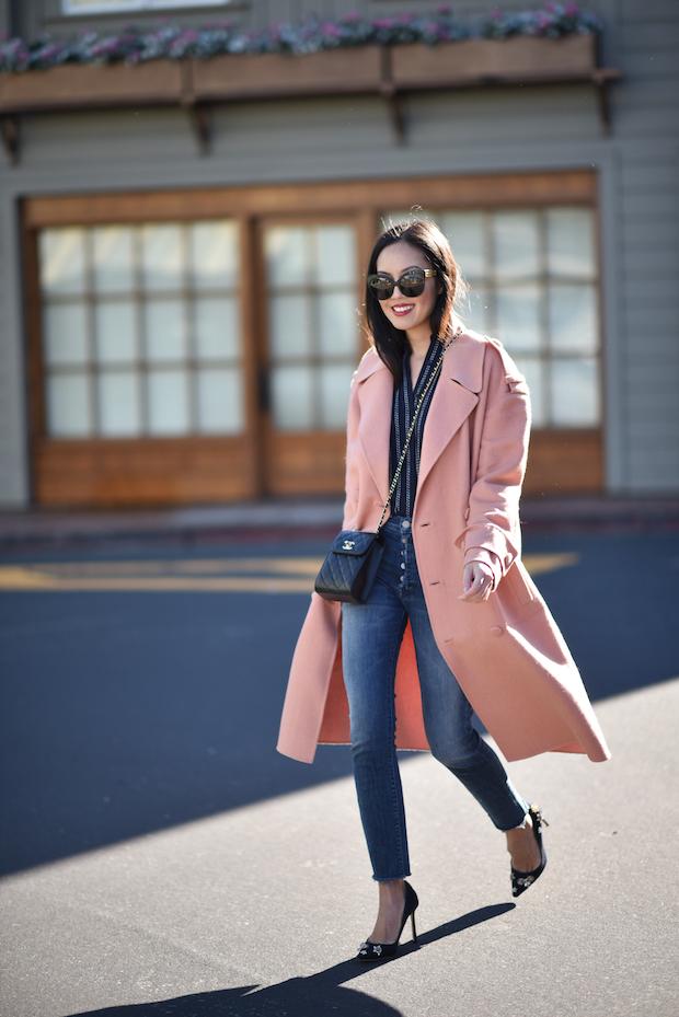 Street style ấm - đẹp - chất của các quý cô Châu Á  - Ảnh 4.