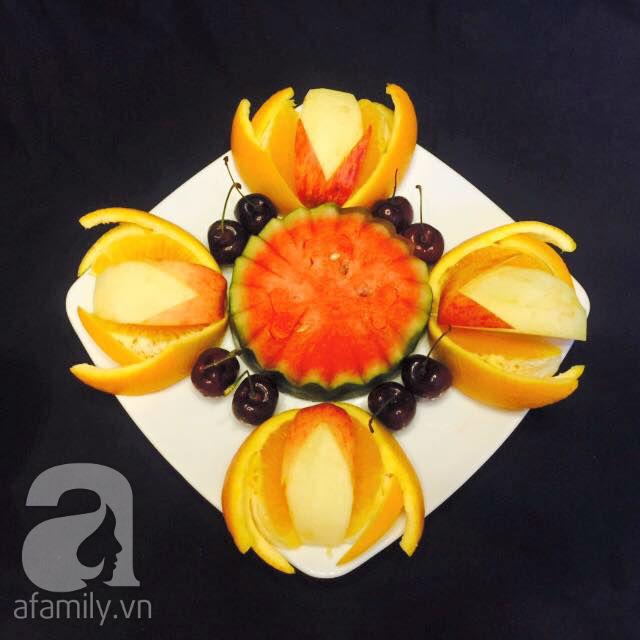 6 cách bày đĩa trái cây dễ mà siêu xinh cùng cả nhà đón năm mới rực rỡ - Ảnh 12.
