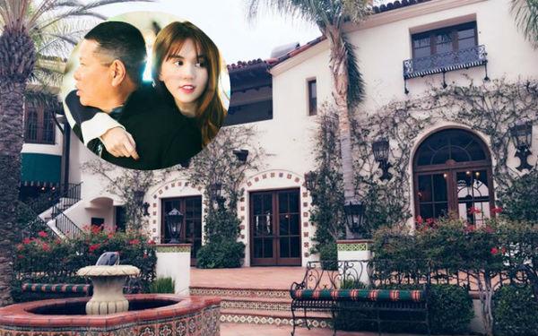 """Ngọc Trinh có thể về sống cạnh nhà của Kim """"siêu vòng 3"""" nếu cưới tỷ phú 72 tuổi - Ảnh 1."""