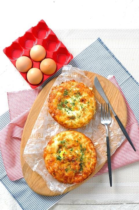 5 bước đơn giản làm bánh trứng phô mai ngon điên đảo - Ảnh 9.