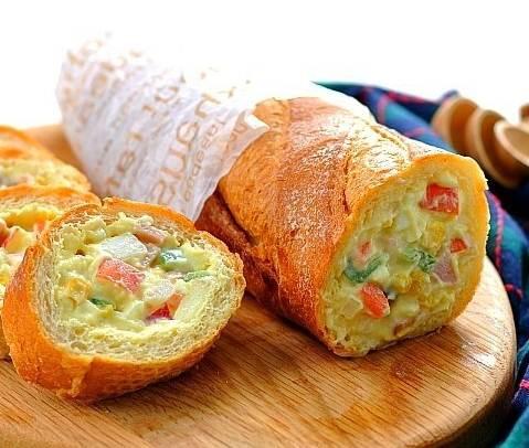Bánh mỳ nhồi salad khoai tây ngon lạ cho bữa sáng - Ảnh 11.