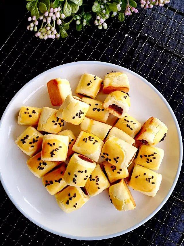 Bánh đậu đỏ lạ miệng nhâm nhi bữa sáng quá hợp - Ảnh 5.