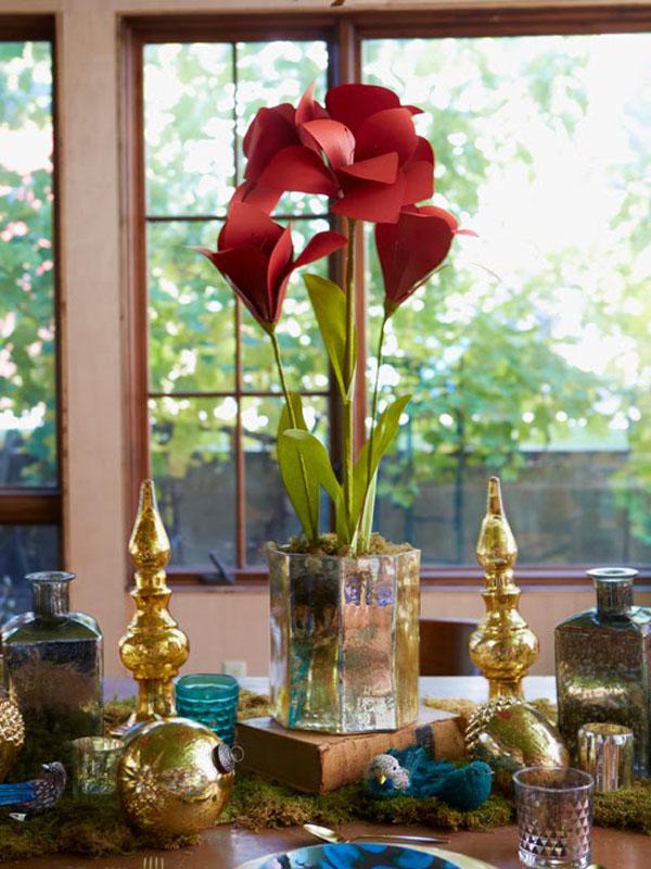 Mách bạn cách làm hoa giấy đẹp như thật rực rỡ tưng bừng - Ảnh 7.