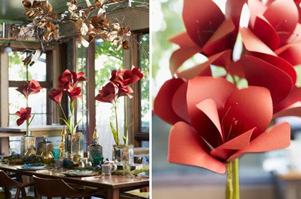 Mách bạn cách làm hoa giấy đẹp như thật rực rỡ tưng bừng - Ảnh 8.