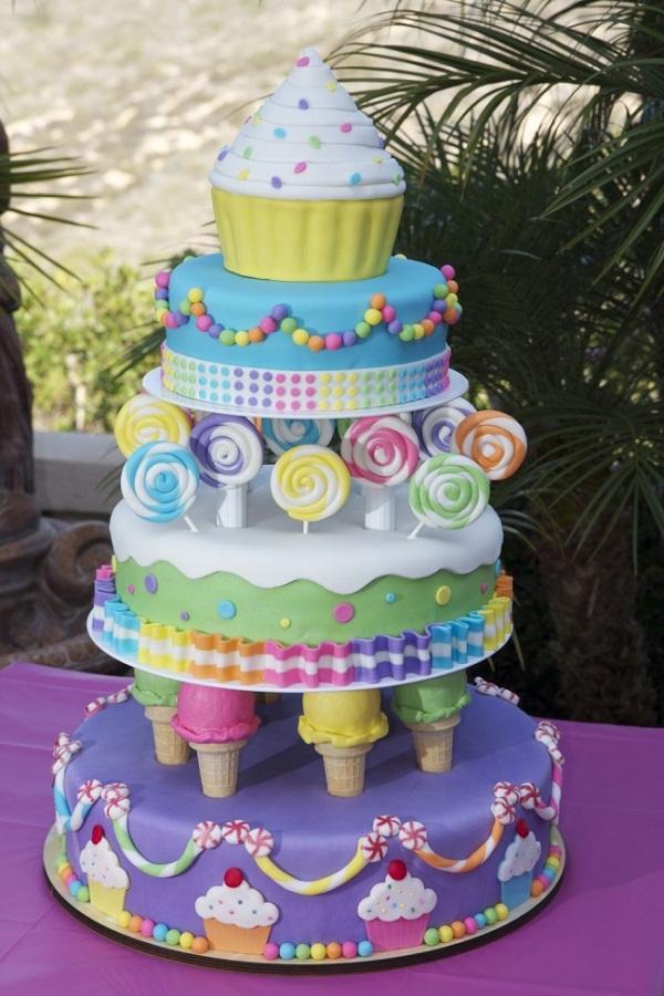 Những chiếc bánh đẹp và lạ khiến bạn muốn ngắm mãi chẳng nỡ ăn - Ảnh 9.