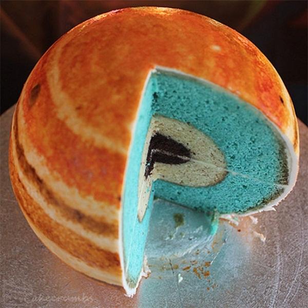 Những chiếc bánh đẹp và lạ khiến bạn muốn ngắm mãi chẳng nỡ ăn - Ảnh 17.
