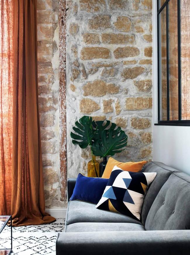 Căn hộ 45m² đơn giản mà đẹp xuất sắc với thiết kế cực hợp lý cho vợ chồng trẻ - Ảnh 2.