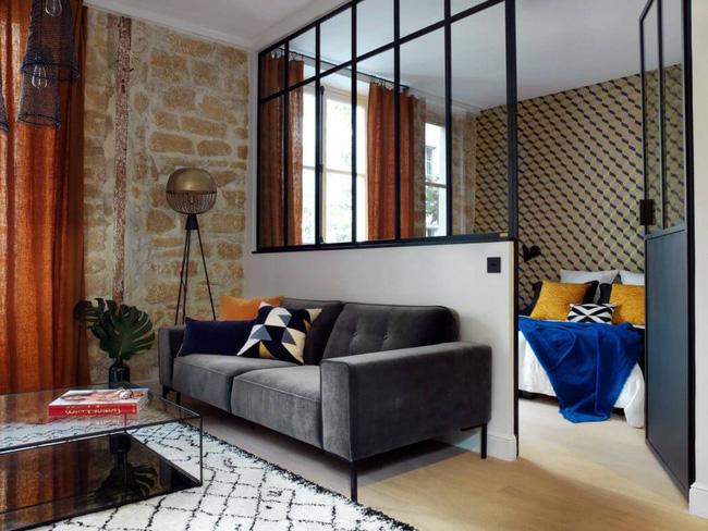 Căn hộ 45m² đơn giản mà đẹp xuất sắc với thiết kế cực hợp lý cho vợ chồng trẻ - Ảnh 4.
