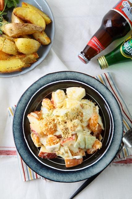 Salad cam táo thanh mát chống ngán cho bữa ăn nhiều đạm - Ảnh 8.