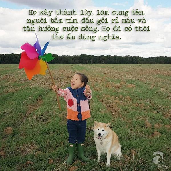 Trẻ con bây giờ thừa mứa quá dễ hư hỏng, thà cứ thiếu thốn như chúng ta ngày trước lại hay - Ảnh 1.