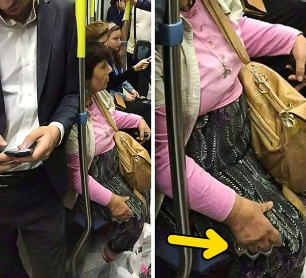 Nếu không muốn trở thành trò cười cho thiên hạ chớ diện đồ kiểu này đi phương tiện công cộng - Ảnh 8.