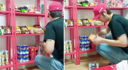 Người đàn ông xây cả một cửa hàng tiện ích tặng vợ đang mang thai - Ảnh 2.
