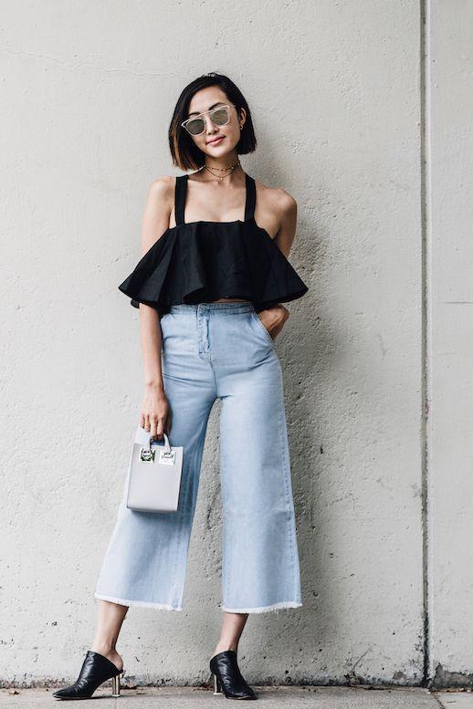 Đến quần jeans dáng sơ bản cũng có kiểu chuẩn xu hướng, kiểu không - Ảnh 10.