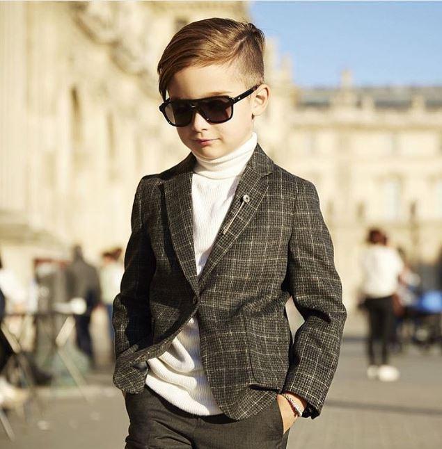 Tuyển tập những kiểu tóc đẹp cho bé trai giúp các mẹ thỏa thích biến con mình thành soái ca - Ảnh 10.