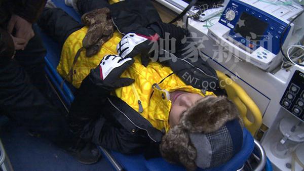 Lâm Chí Dĩnh nhập viện vì tai nạn trên sân băng - Ảnh 3.
