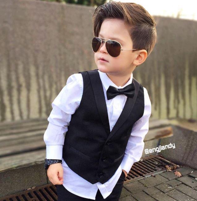 Tuyển tập những kiểu tóc đẹp cho bé trai giúp các mẹ thỏa thích biến con mình thành soái ca - Ảnh 9.