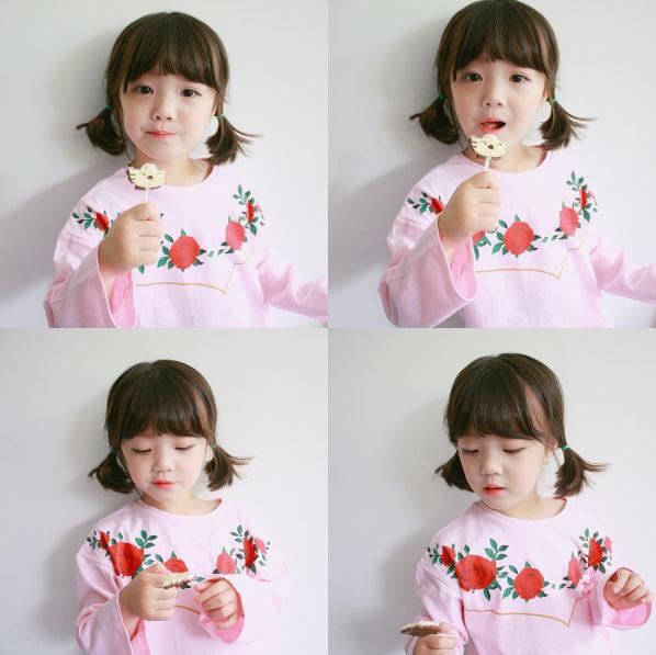 Những cách tạo kiểu với tóc ngắn đáng yêu đến lịm người cho bé gái - Ảnh 10.