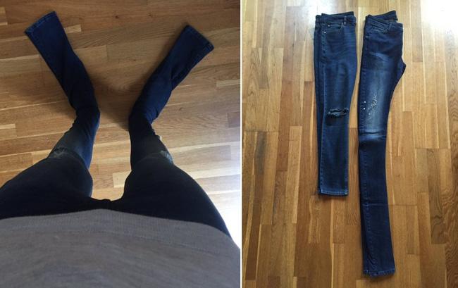 Các hãng thời trang liên tiếp tung ra những kiểu quần jeans lạ đời khiến dân tình mắt tròn mắt dẹt - Ảnh 8.