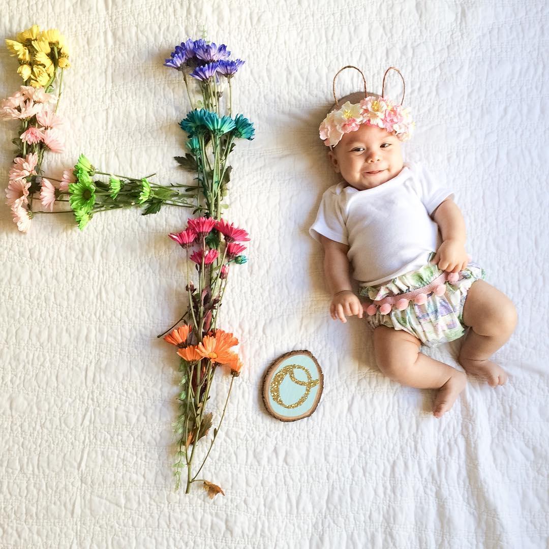 Идеи оформления фото детей
