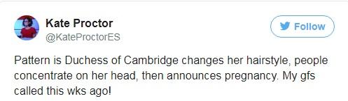 Đây là cách tinh tế công nương Kate vẫn dùng để giấu chuyện bầu bí trước ngày hoàng đạo được công bố chính thức - Ảnh 4.