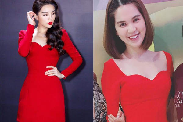 Mặc cùng kiểu váy với Kỳ Duyên, Ngọc Trinh không những kém sang mà còn tụt giảm phong độ vì... kiểu tóc - Ảnh 4.