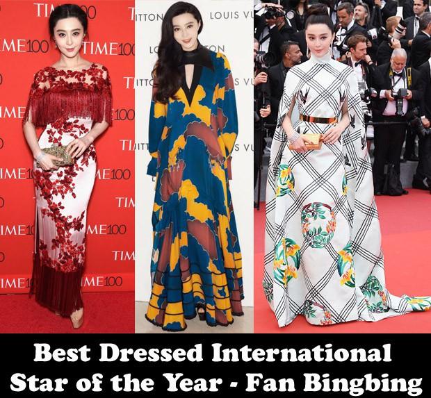 """Là """"Ngôi sao quốc tế mặc đẹp nhất thế giới"""", nhưng Phạm Băng Băng cũng có vô số pha ăn mặc khó hiểu - Ảnh 1."""