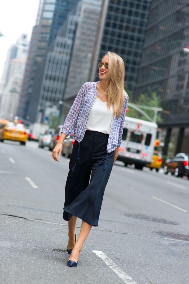Cả tuần mặc đẹp với quần culottes - chiếc quần chưa bao giờ hết hot đối với nàng công sở - Ảnh 3.