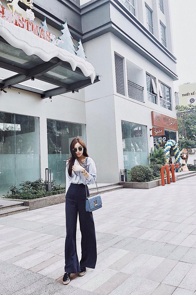 Chỉ diện áo phông đơn giản thôi mà Kỳ Duyên cũng đẹp xuất thần trong street style tuần này - Ảnh 2.