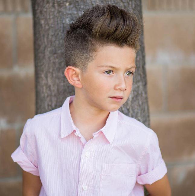 Tuyển tập những kiểu tóc đẹp cho bé trai giúp các mẹ thỏa thích biến con mình thành soái ca - Ảnh 2.