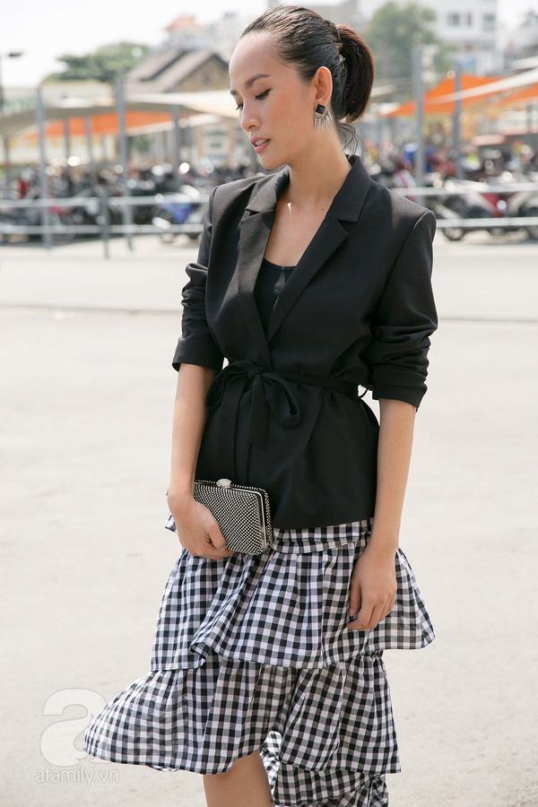 Tết này có trót tăng cân thì cũng chẳng lo lộ dáng với những thiết kế váy áo này - Ảnh 4.