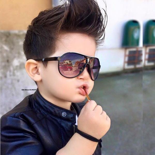 Tuyển tập những kiểu tóc đẹp cho bé trai giúp các mẹ thỏa thích biến con mình thành soái ca - Ảnh 8.