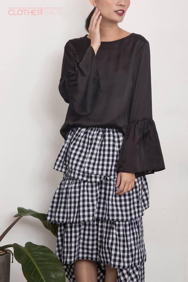 Nàng duyên dáng đừng bỏ qua loạt thiết kế váy-áo tay loe đến từ thương hiệu Việt này nhé! - Ảnh 4.
