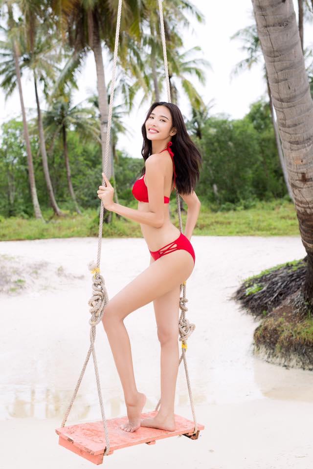 So bì nhan sắc - vóc dáng của 5 thí sinh hot nhất Hoa hậu Hoàn Vũ Việt Nam 2017 - Ảnh 2.