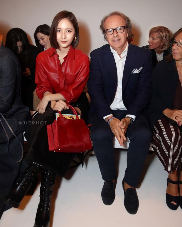 Nối gót Yoona, Krystal cũng cắt tóc ngắn, xuất hiện cực sang chảnh tại Tuần lễ thời trang Milan - Ảnh 3.