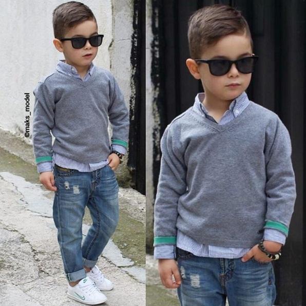 Tuyển tập những kiểu tóc đẹp cho bé trai giúp các mẹ thỏa thích biến con mình thành soái ca - Ảnh 11.