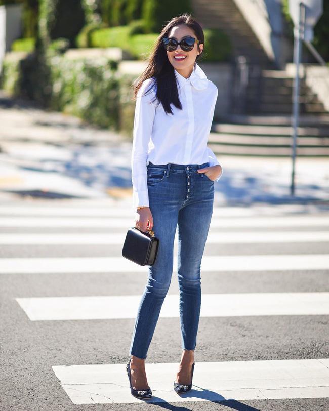 Từng kiểu quần jeans, diện cùng giày thế nào thì phải phép nhất - Ảnh 5.