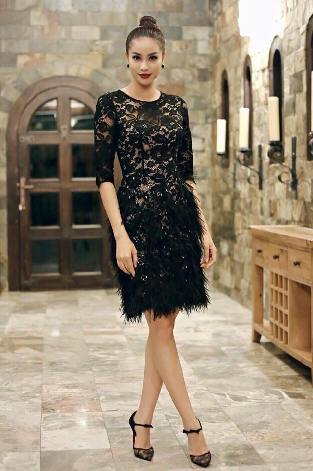 Phạm Hương và 3 phong cách hoàn toàn khác nhau từ The Face, Hoa hậu hoàn vũ 2017 đến The Look - Ảnh 2.