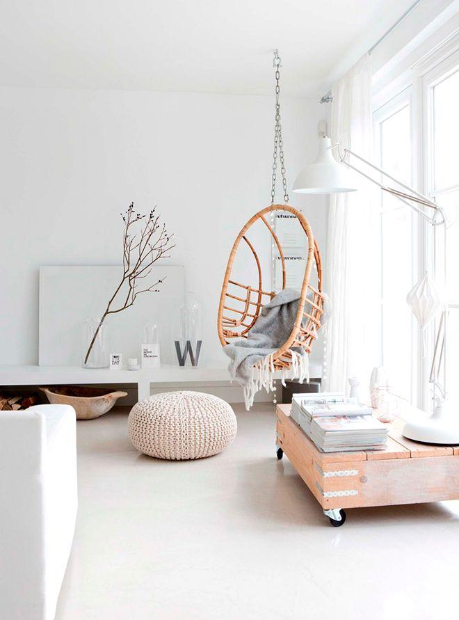 Ghế treo - Món nội thất chỉ góp mặt là nhà đã có ngay góc nghỉ dưỡng tuyệt vời - Ảnh 1.