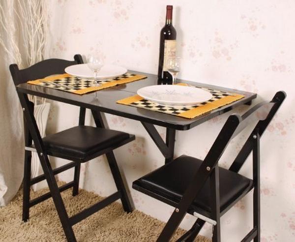 11 bộ bàn ăn vô cùng hợp lý cho những ngôi nhà chật mà vẫn muốn chất - Ảnh 2.