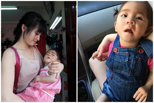 Sau gần 1 năm có mẹ nuôi, em bé Lào Cai đã tăng 10kg, bụ bẫm đáng yêu như thế này đây - Ảnh 2.