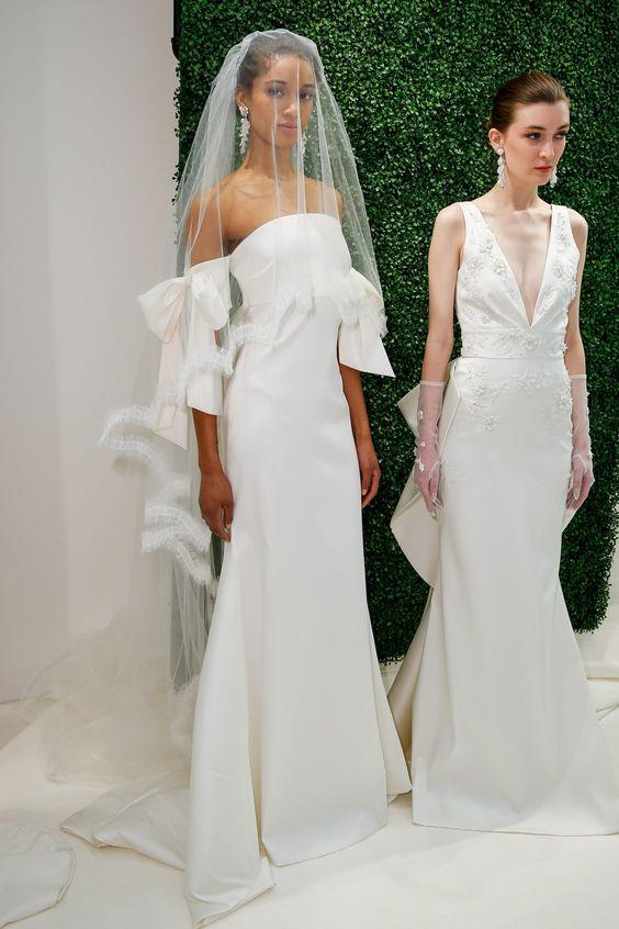 Muốn gây ấn tượng trong ngày trọng đại, các cô dâu đừng bỏ qua 7 mẫu váy này - Ảnh 2.