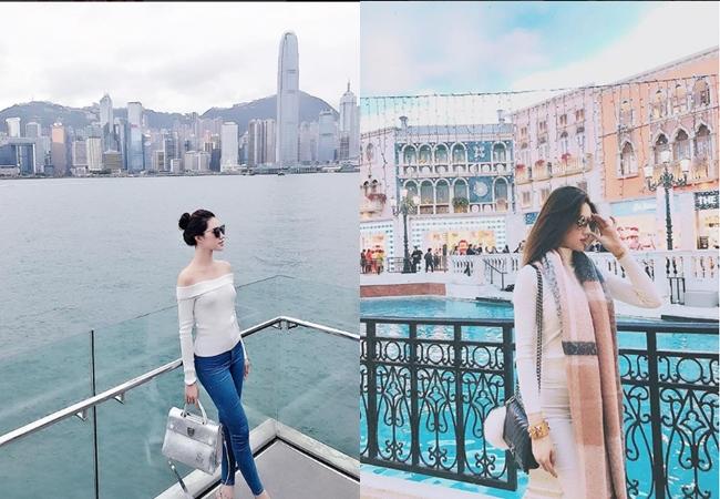 Ngắm cuộc sống sang chảnh, ngập trong đồ hiệu, du lịch xa xỉ của Jolie Nguyễn - hoa hậu hội con nhà giàu Việt Nam - Ảnh 21.