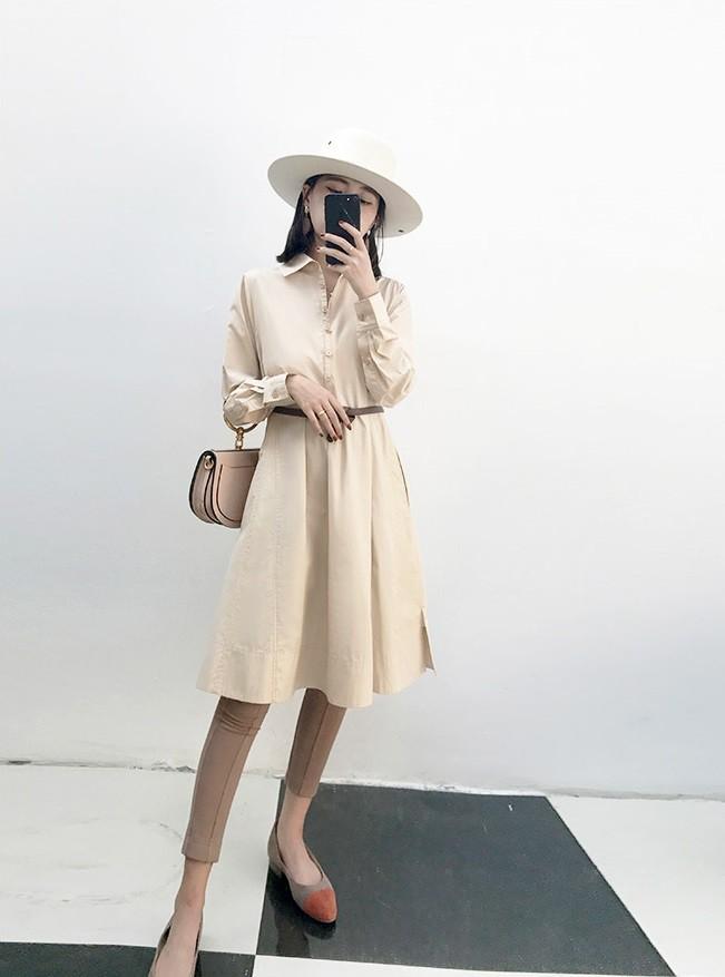 5 mẫu váy đang được các tín đồ thời trang châu Á diện nhiều nhất khi tiết trời se lạnh  - Ảnh 11.