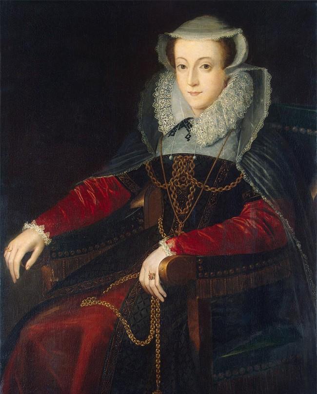 Cuộc đời bi kịch của Nữ hoàng Scotland: 6 ngày tuổi lên ngôi, 3 lần mất chồng, bị chị họ cầm tù 19 năm và tuyên án tử  - Ảnh 4.