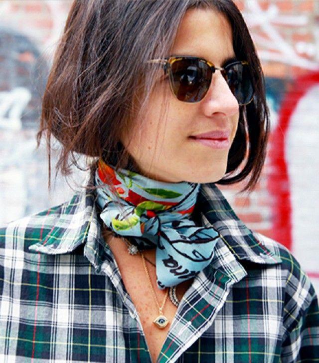7 kiểu thắt khăn cơ bản để bạn bung lụa trong mùa lạnh sắp tới - Ảnh 12.