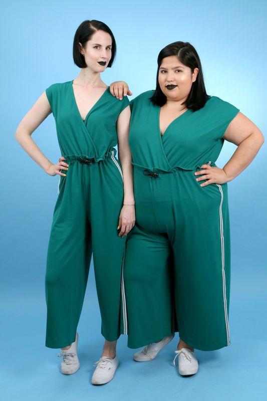 2 cô nàng béo và gầy này sẽ cùng mặc thử 1 mẫu trang phục để xem liệu ai sẽ mặc đẹp hơn - Ảnh 13.