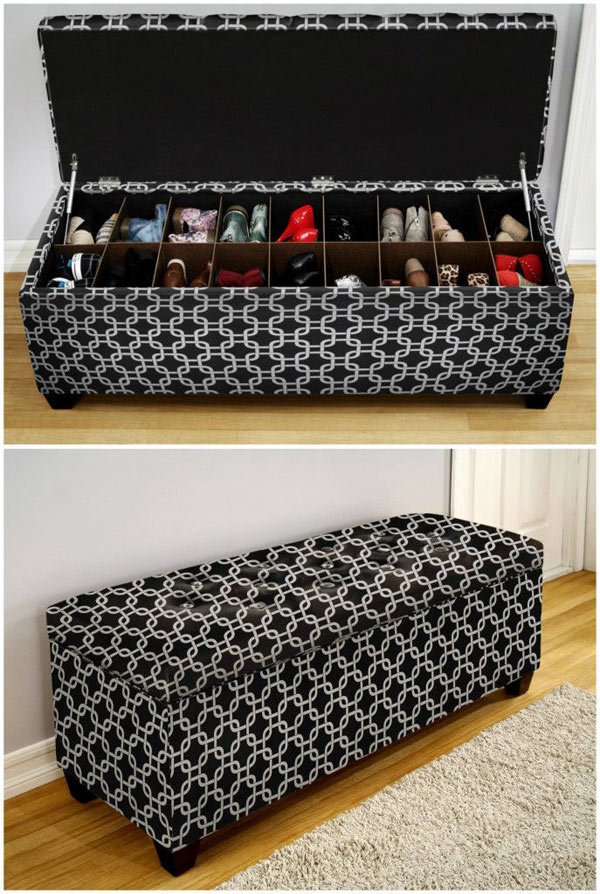 5 mẫu tủ giày nhỏ mà có võ cực tối ưu cho không gian nhà nhỏ - Ảnh 7.