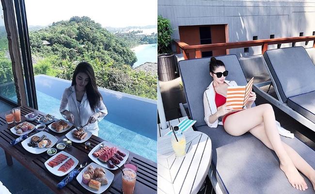 Ngắm cuộc sống sang chảnh, ngập trong đồ hiệu, du lịch xa xỉ của Jolie Nguyễn - hoa hậu hội con nhà giàu Việt Nam - Ảnh 23.